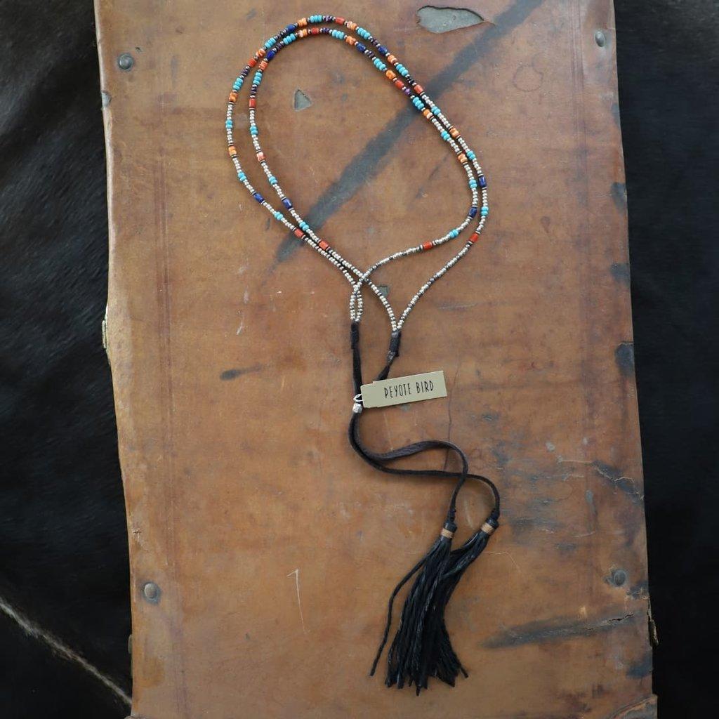 Peyote Bird | Beaded Convertible Bolo/Hatband/Necklace