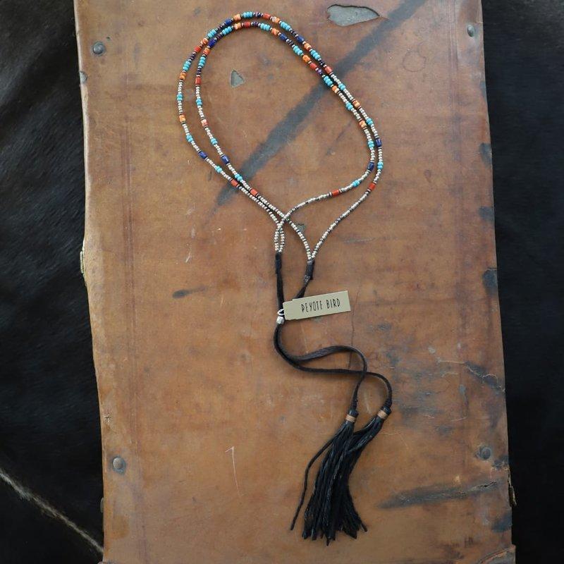 Beaded Convertible Bolo/Hatband/Necklace