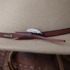 Peyote Bird | Feather Turquoise Joe Eby Hat Pin