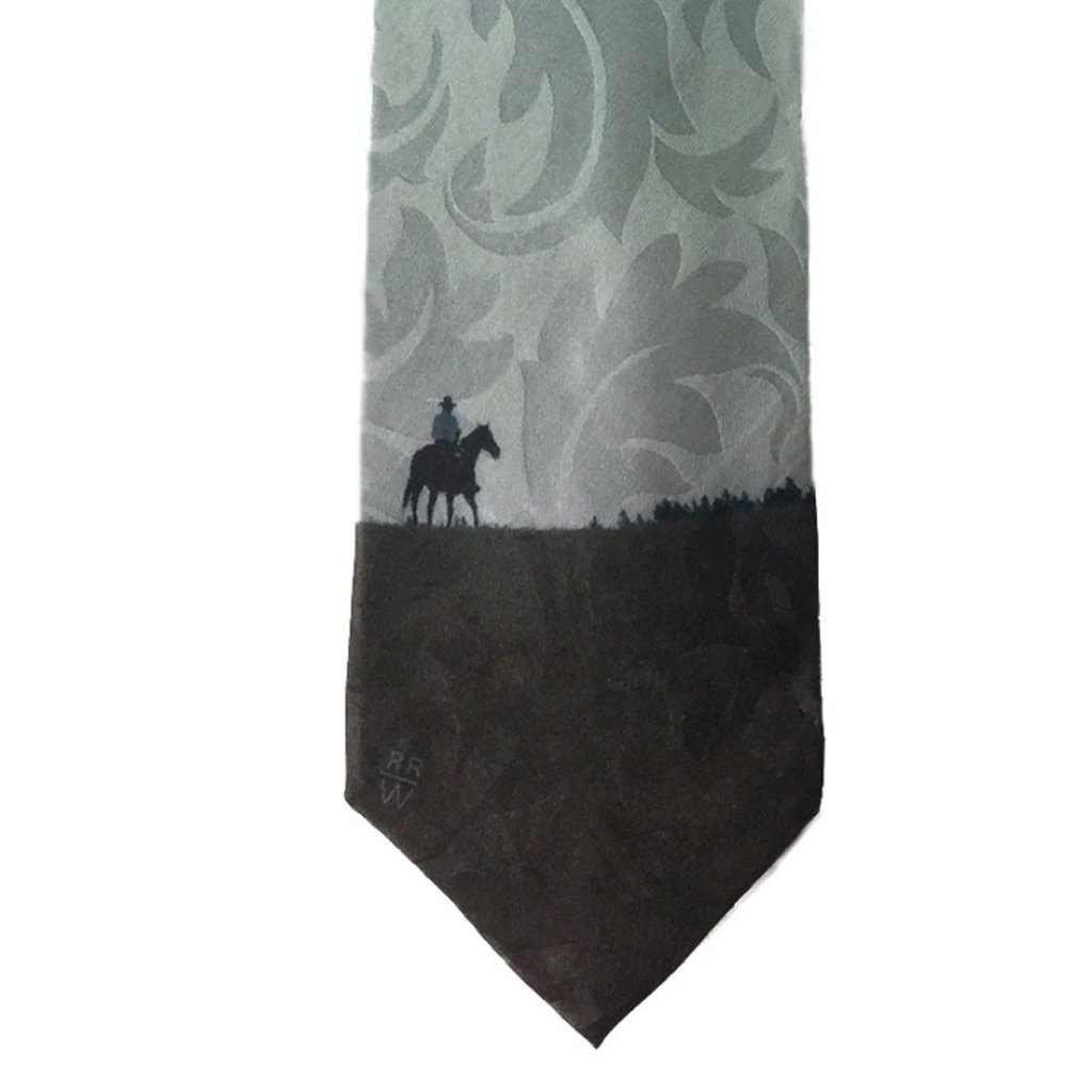 Rockmount Ranchwear | Silk Necktie | Big Horn Rider