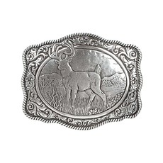 M&F Western | Crumrine Vintage Buck Belt Buckle