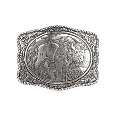 M&F Western   Buffalo Belt Buckle