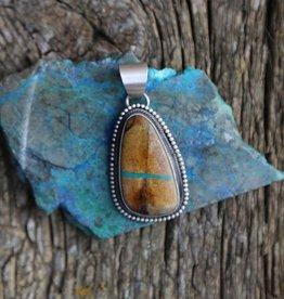 Sterling | Boulder Turquoise Pendant