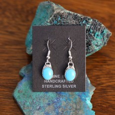Sterling | Turquoise Drop Earrings
