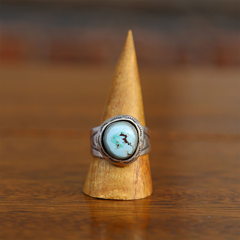 Sterling | Turquoise Ring | Size 13