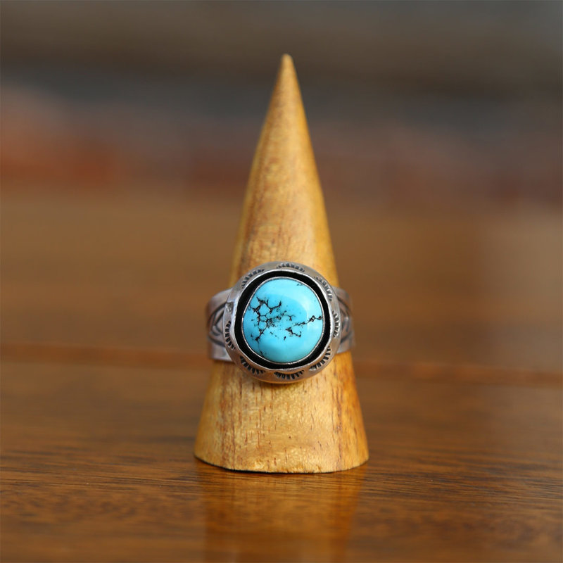 Sterling | Turquoise Ring | Size 12 1/2
