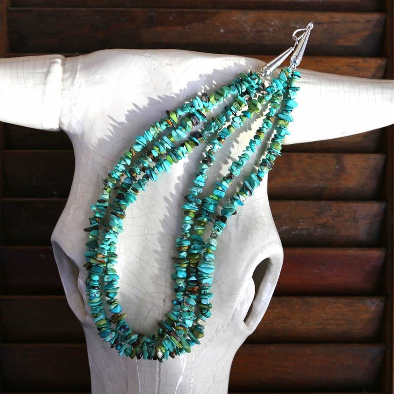 Turquoise | Beaded Necklace