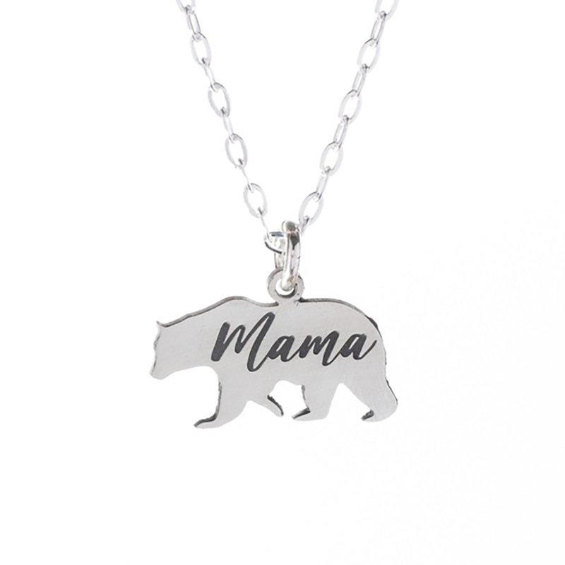 The Bearded Jeweler Mama Bear Necklace