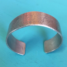 Cynthia Out West   River Rock Hammered Bracelet