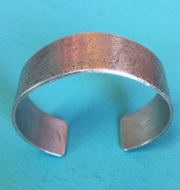 River Rock Hammered Bracelet