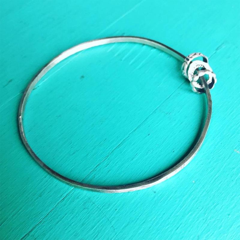 Sterling Bangle Bracelet