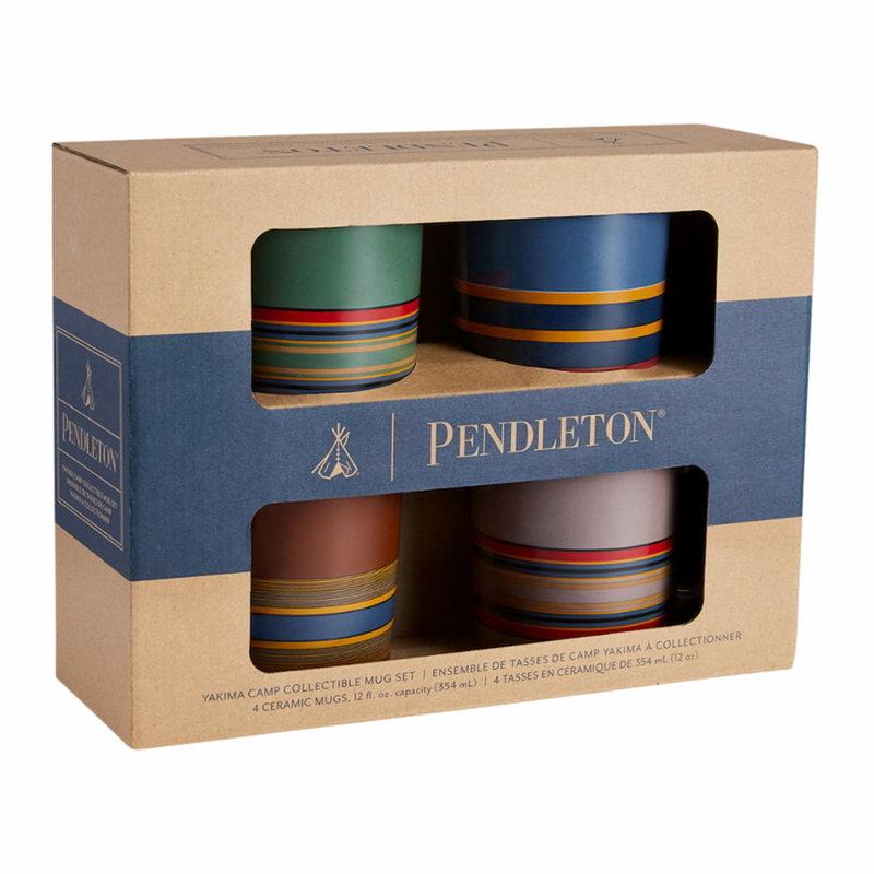 Pendleton Mug (Set of 4) |  Camp Stripe