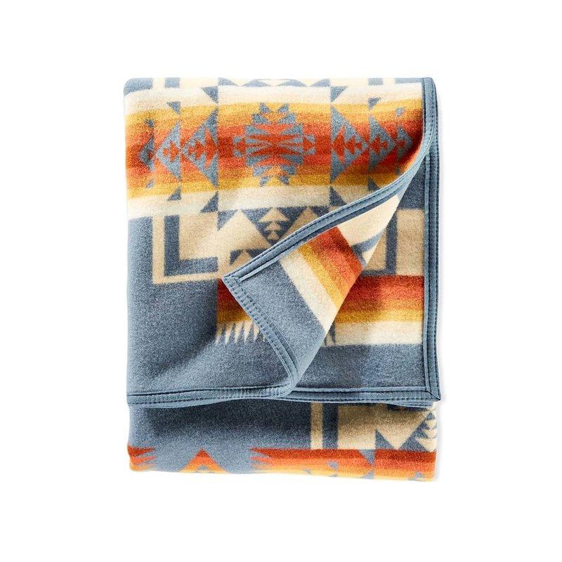 Pendleton Chief Joseph Bed Blanket | King | Slate