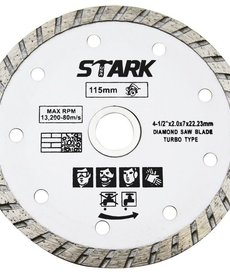 "STARK Stark Turbo Diamond Blade 4"" Wet and Dry"
