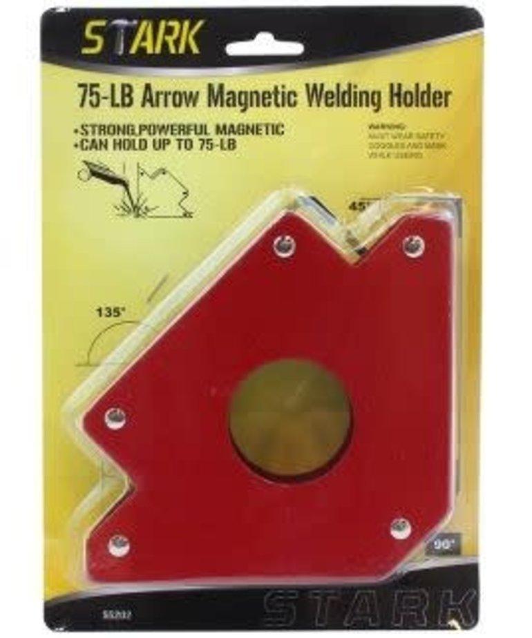 STARK Stark 75-LB Arrow Welding Magnet
