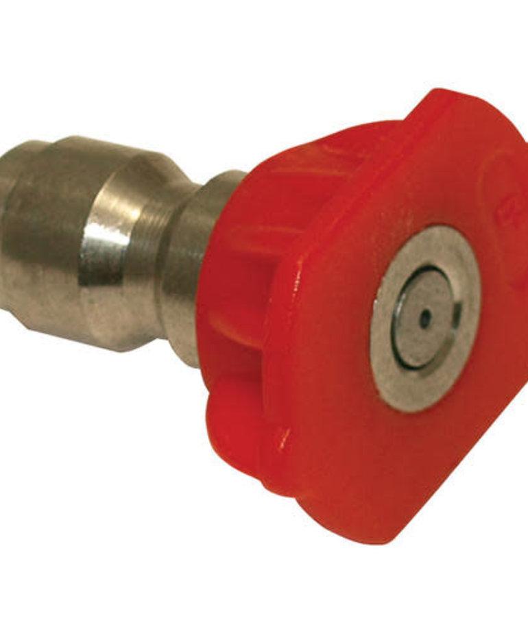 STATESIDE EQUIPMENT Stateside Spray Nozzle Tip 2.5-4.0GPM Red 0Deg 4000PSI Max