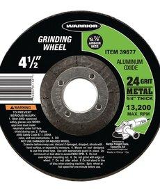 """WARRIOR Grinding Wheel 4-1/2"""""""