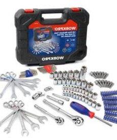 WORK PRO Work Pro Tool Set Mechanics 52pc
