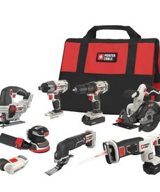 PORTER CABLE Porter Cable 8-Tool Combo Kit 20V