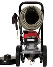 SIMPSON Simpson MegaShot 3000 PSI at 2.4 GPM HONDA GCV160 with OEM Technologies Axial Cam Pump Cold Water Premium Residential Gas Pressure Washer with 15 in. Surface Scrubber