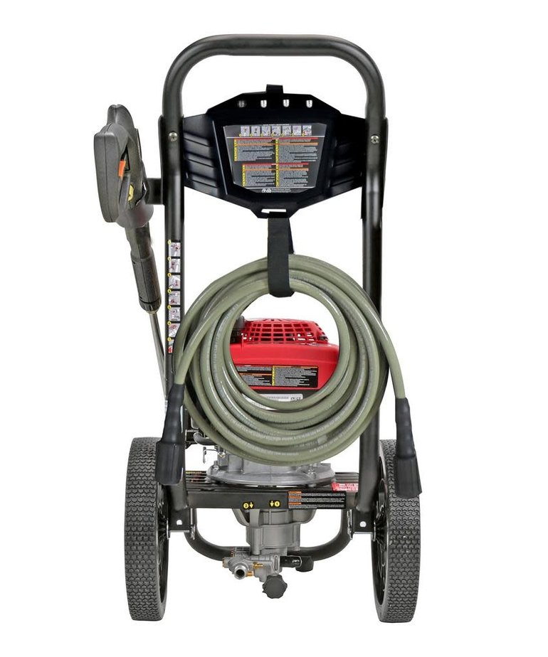 SIMPSON Simpson MegaShot 2800 PSI at 2.3 GPM HONDA GCV160 with OEM Technologies Axial Cam Pump Cold Water Premium Residential Gas Pressure Washer
