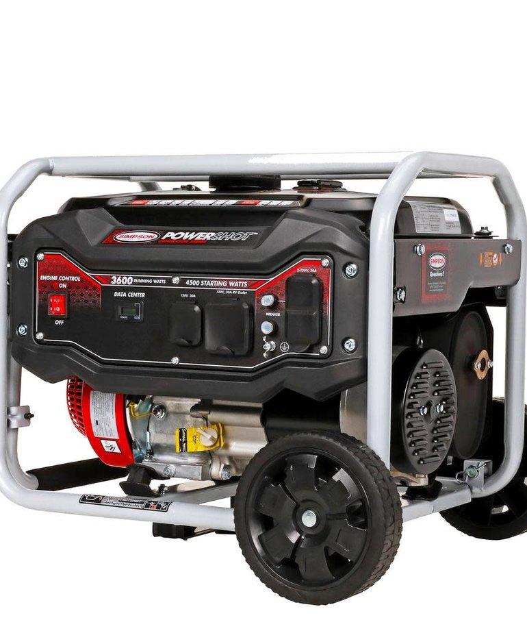 SIMPSON Simpson PowerShot Portable 3600-Watt Generator