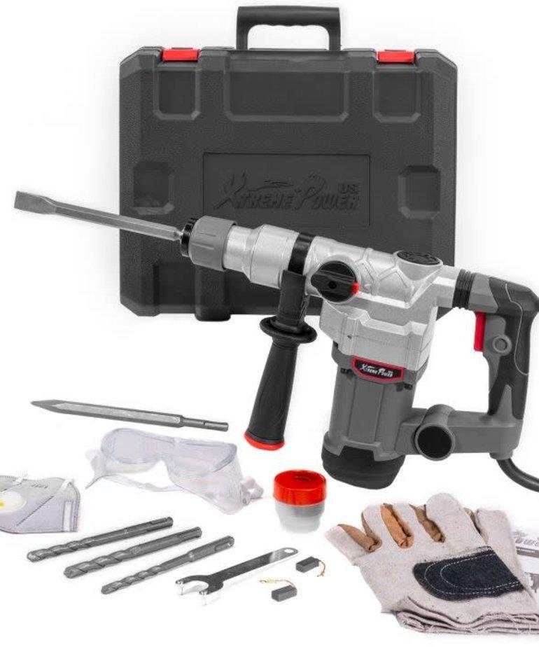 XTREMEPOWERUS XtremePowerUs Rotary Hammer Drill SDS Plus 1200W