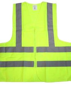 STARK Stark Safety Vest Yellow 2 pocket ANSI XXL