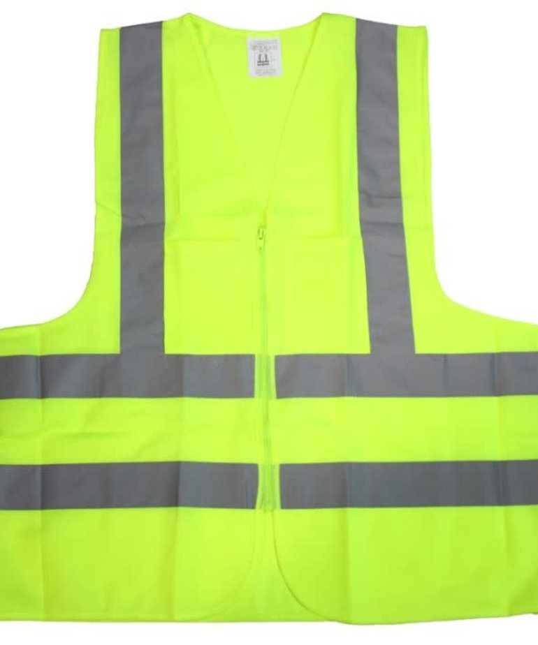 STARK Stark Safety Vest Yellow 2 pocket ANSI Large
