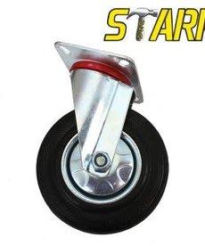 """STARK Stark Rubber Swivel Caster 4"""""""