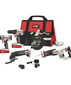 PORTER CABLE Porter Cable 6-Tool Combo Kit 20V