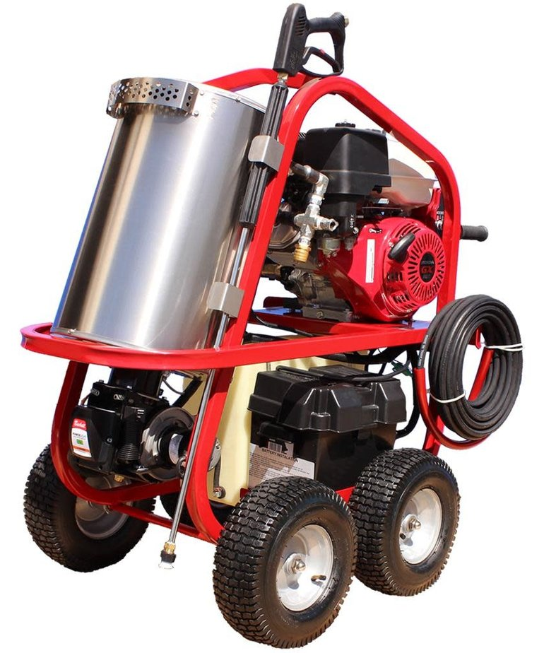 PRESSURE-PRO Pressure Pro Dirt Laser Hot Pressure Washer 4000PSI @ 3.5GPM Gas Powered Diesel Heated