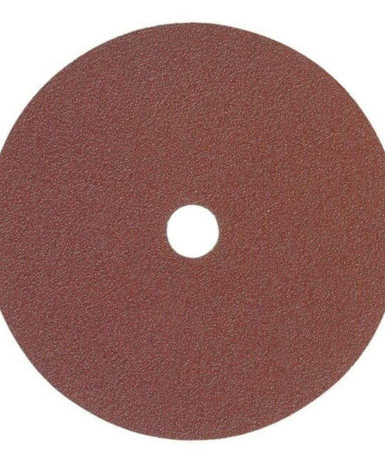 """MERCER ABRASIVES Mercer Sanding Discs AOX Resin 7"""" x 7/8"""" 80 Grit 25-Pack"""