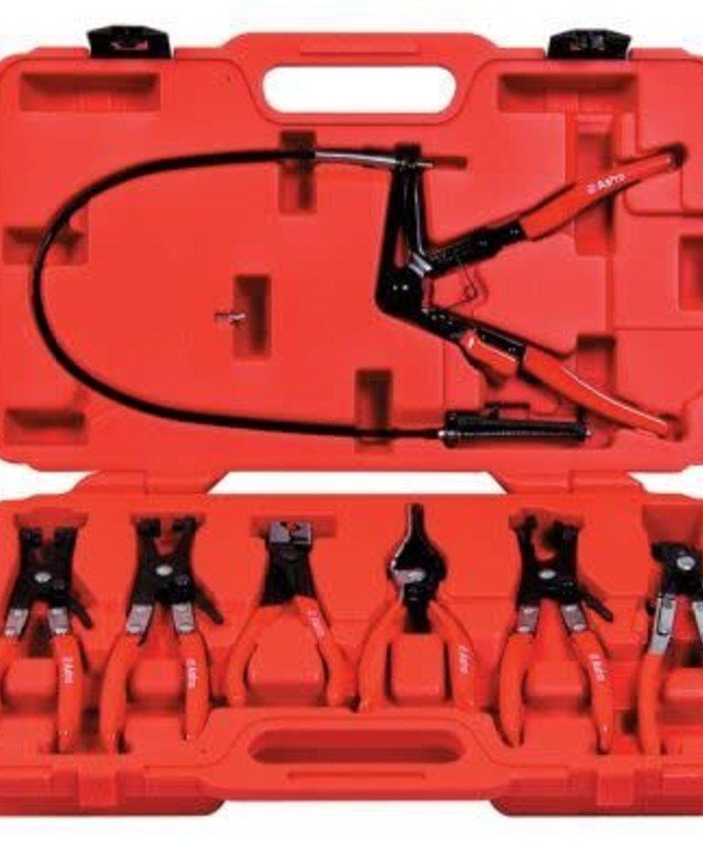 STARK Stark Flexible Hose Clamp Plier Set 7pc