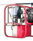 PRESSURE-PRO Pressure Pro Dirt Laser Hot Skid Pressure Washer 4000PSI @ 3.5GPM Gas Powered Direct Drive 12V