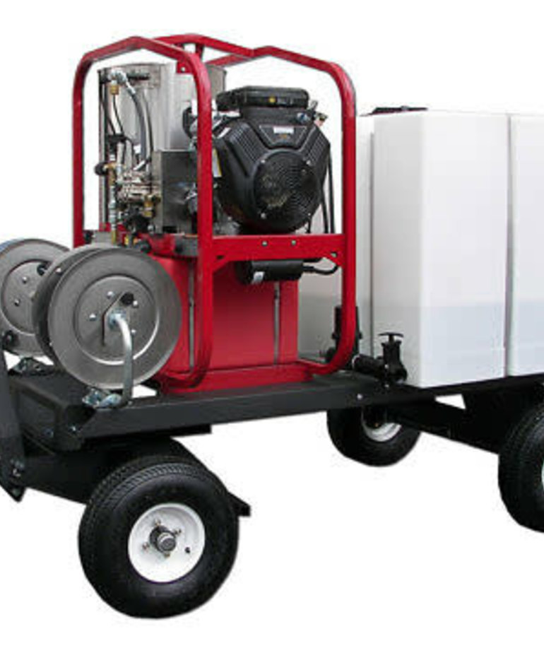 PRESSURE-PRO Pressure Pro Dirt Laser Pressure Washer 3000 PSI @ 5.0 GPM Vanguard Tow And Stow Wash Cart