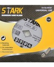 "STARK Stark Dry Diamond Blade 7-1/4"""