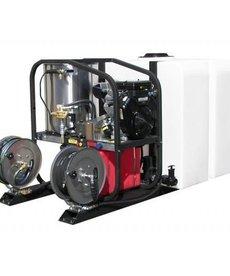 PRESSURE-PRO Pressure Pro Dirt Laser Pressure Washer 4000 PSI @ 3.5 GPM Honda Tank Skid Model
