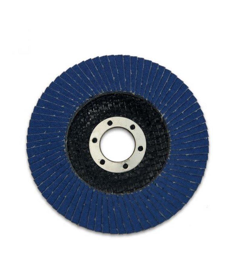 "STARK Stark Flat Flap Disc Zirc 80 Grit 4-1/2"""
