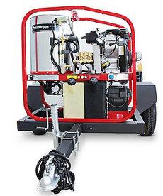 PRESSURE-PRO Pressure Pro Dirt Laser Pressure Washer 4000PSI @ 4.8GPM Vanguard Single Axle Trailer