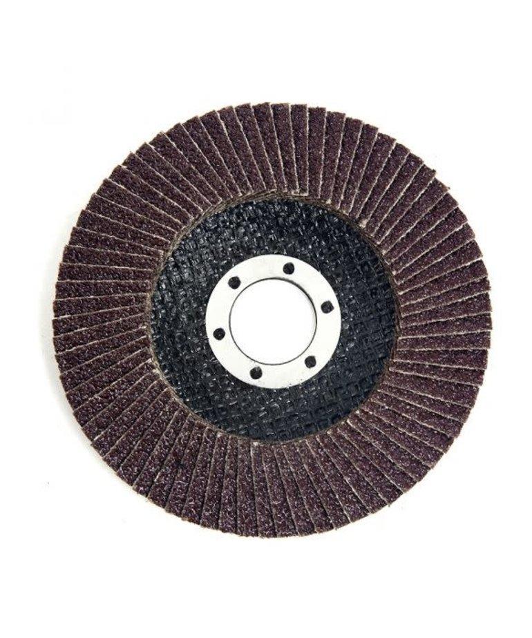 """STARK Stark Flat Flap Disc A/O 40 Grit 4-1/2"""""""