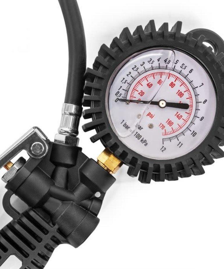 STARK Stark Tire Inflator with Pressure Oil Gauge Gun