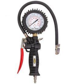 STARK Stark Tire Inflator with Pressure Gauge Gun Pointer