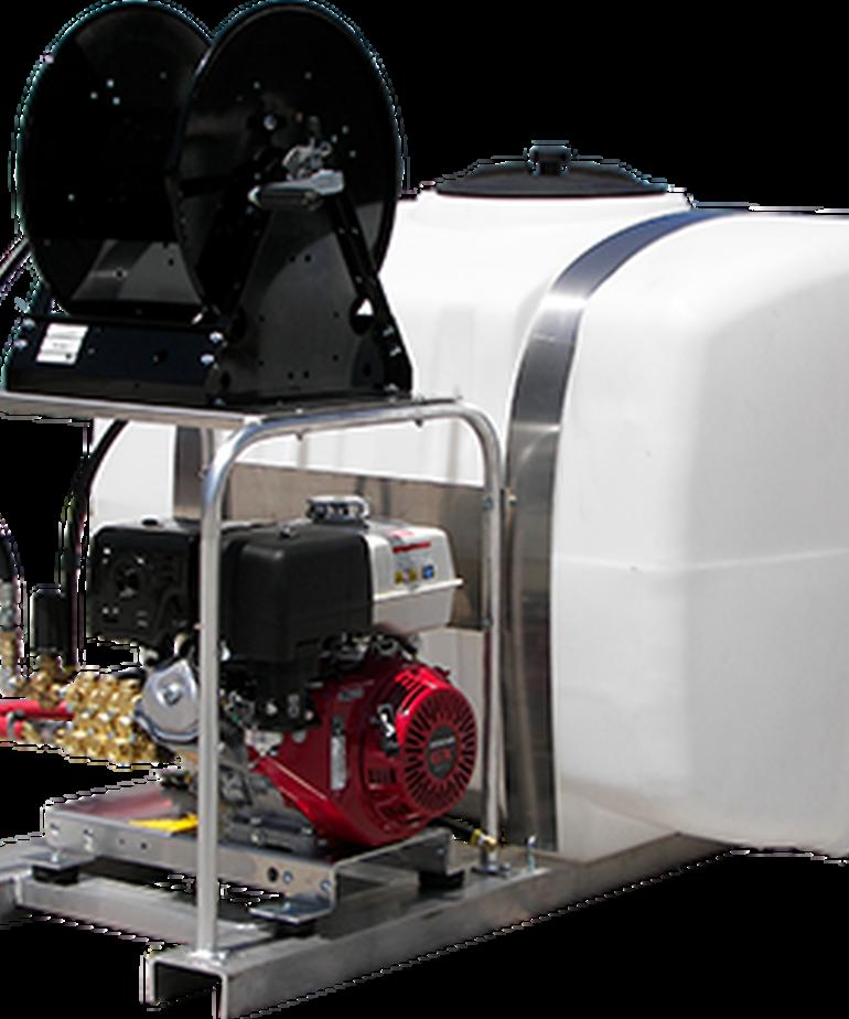 PRESSURE-PRO Pressure Pro Pro-Skid Series Pressure Washer 2400 PSI @ 3 GPM Gas