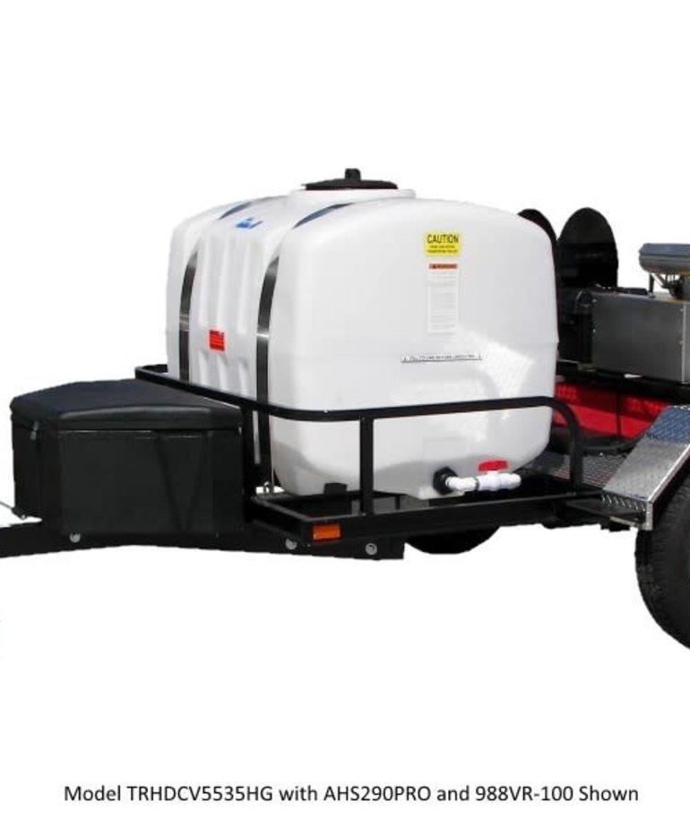 PRESSURE-PRO Pressure Pro HD Commercial Tow-Pro Trailer Pressure Washer 3500 PSI @ 5.5 GPM Gas
