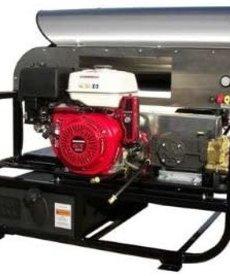 PRESSURE-PRO Pressure Pro Pro-Super Skid Series Pressure Washer 3500 PSI @ 4 GPM Honda Gas