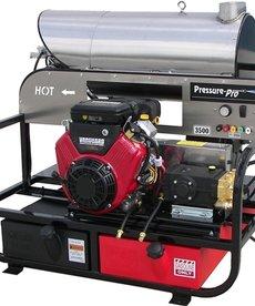 PRESSURE-PRO Pressure Pro Pro-Super Skid Series Pressure Washer 3500 PSI @ 5.5 GPM Vanguard Gas