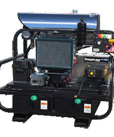 PRESSURE-PRO Pressure Pro Pro-Super Skid Series Pressure Washer 4000 PSI @ 5.5 GPM Kohler Diesel