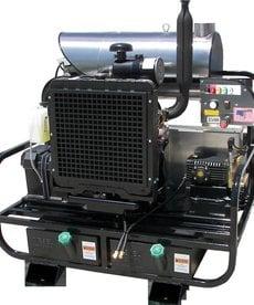 PRESSURE-PRO Pressure Pro Pro-Super Skid Series Pressure Washer 3500 PSI @ 8 GPM Kohler Diesel