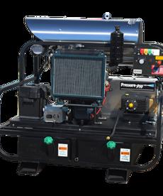 PRESSURE-PRO Pressure Pro Pro-Super Skid Series Pressure Washer 4000 PSI @ 8 GPM Kohler Diesel